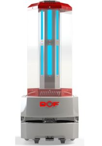 DOF disinfection robot